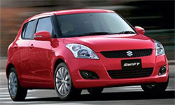 Suzuki Swift ... not tough enough