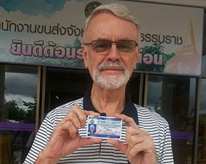 Thai Drivers License