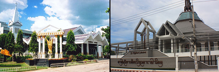 Surat Thani Cathedral, Thailand
