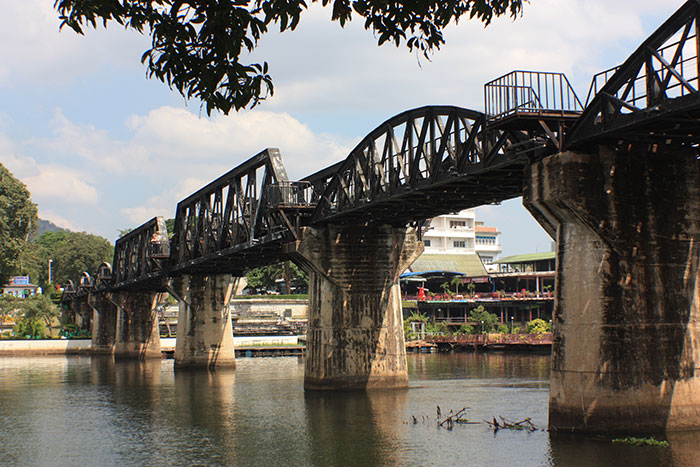 Bridge over the River Kwai, Kanchanaburi, Thailand