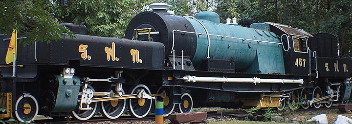 2-8-2+2-8-2 Locomotive, Thailand