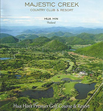 Majestic Creak Golf & Country Club, Thailand