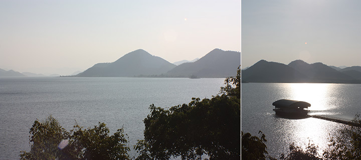 Pranburi Reservoir, Thailand