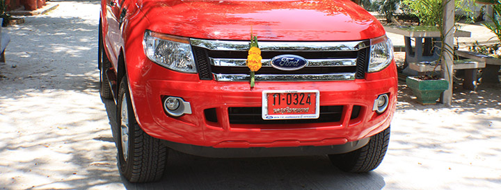 travel, thailand, ford ranger