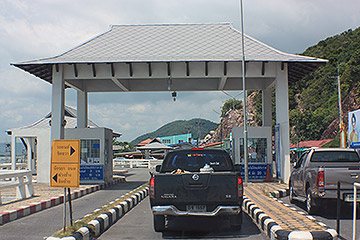 travel, thailand, songkhla, ferry terminal