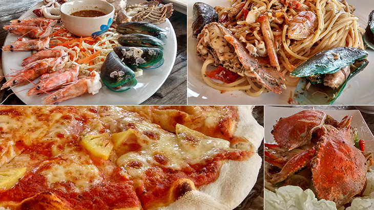 travel, thailand, khanom, life, food, italian