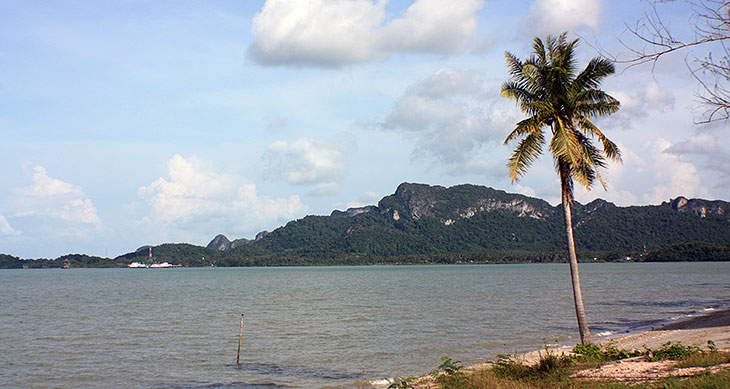 travel, thailand, surat thani, don sak, nangkam beach