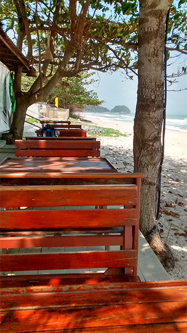 The Beach Khanom Bar and Grill, Thailand