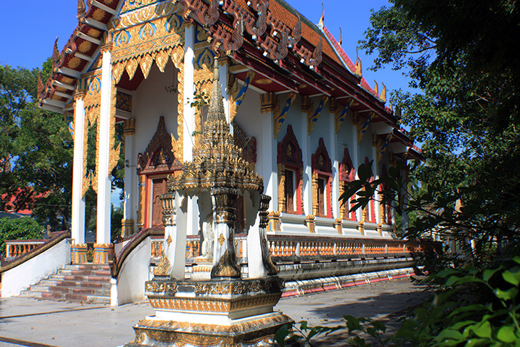 Thailand Sichon Wat Pratum Tayakaram