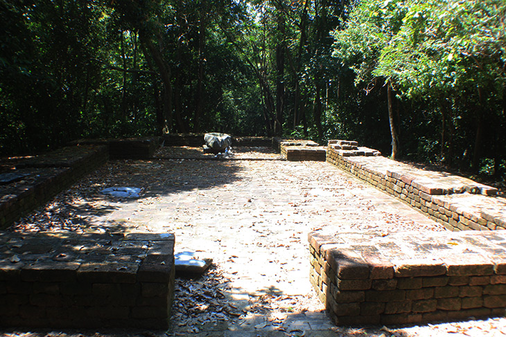 Thailand Sichon Khao Kha Ancient Ruins Archaeological Site