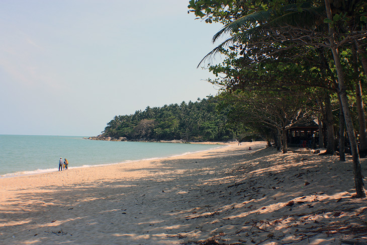 thailand khao plai dam beach sichon