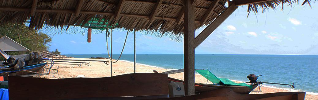Thailand, Khanom, Beaches, Ban Thong Yee