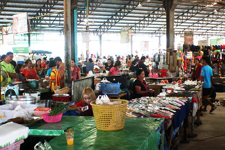 Thailand, Sichon, Market