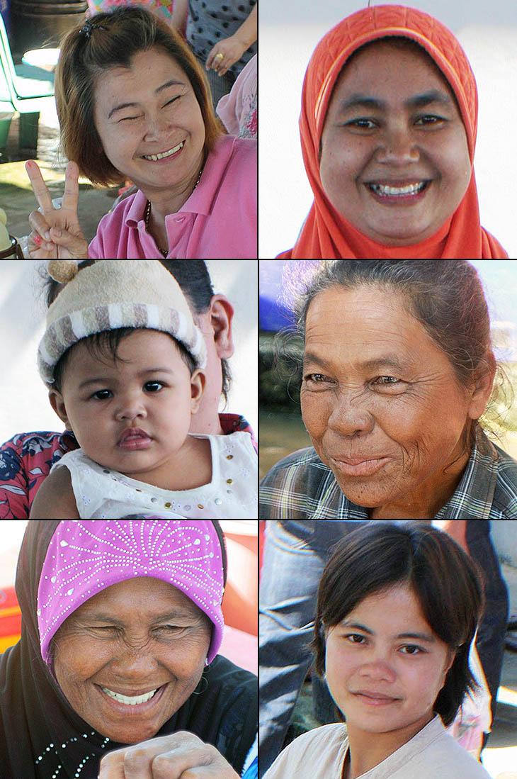 Thailand, Sichon, Market, People