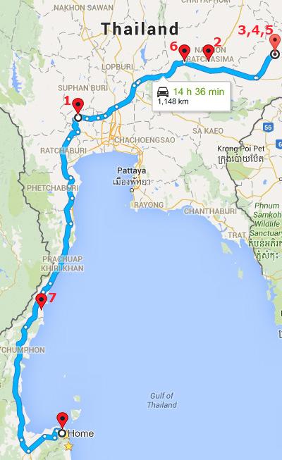 Thailand, Road Trip, Buriram