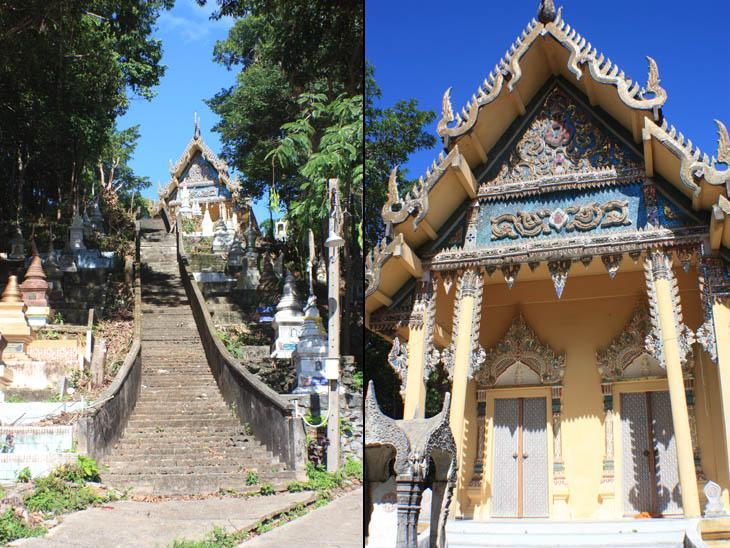 Thailand, Khanom, Wat Suwan Banphot