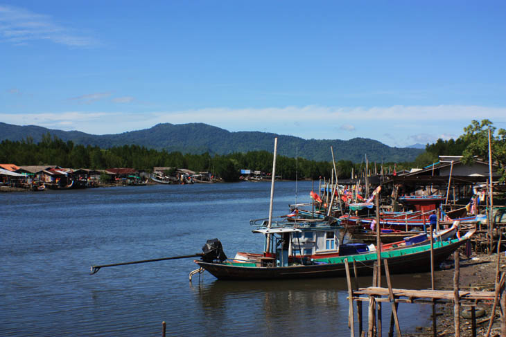 Thailand, Khanom, Port, Fishing