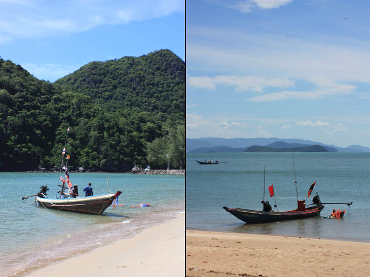 Thailand, Khanom, Beaches