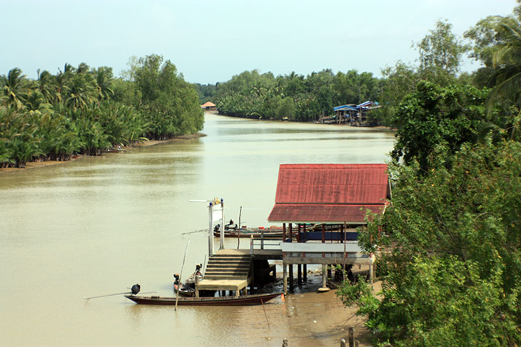 Thailand Surat Thani Rivers