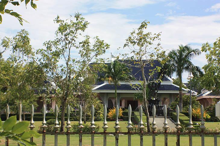 Thailand, Pak Phanang, Royal Palace
