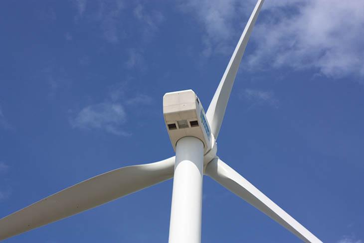 Thailand, Pak Phanang, Wind Farm