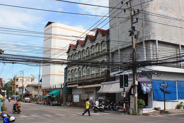 Thailand, Pak Phanang, Swiflets