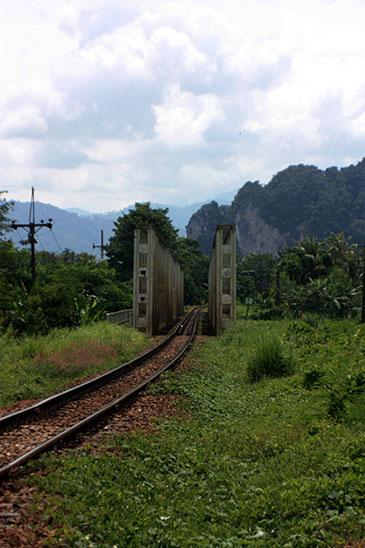 Thailand Chawang Canal Bridge Ban Na San Surat Thani