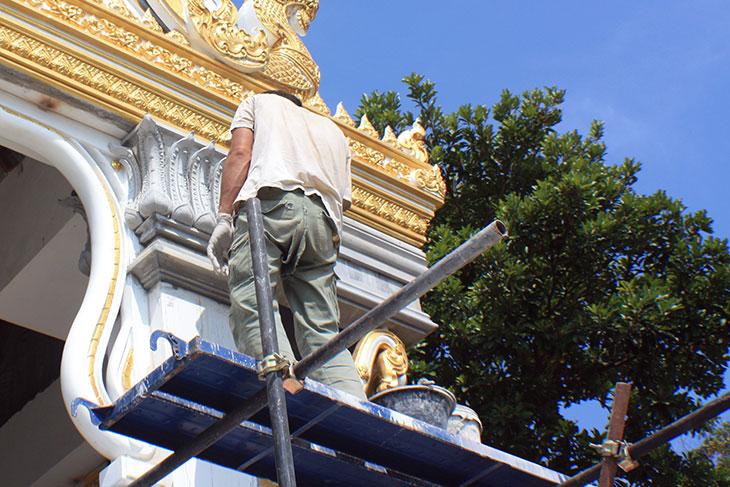 Thailand, Krabi, Wat Laem Sak