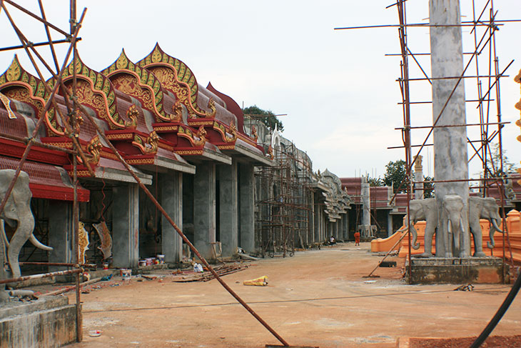 thailand, krabi, wat khao to