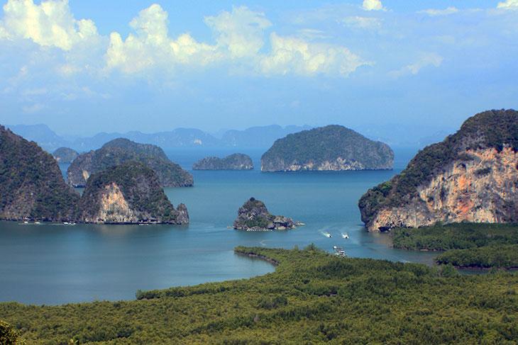 Samed Nangshe Viewpoint, Phang-Nga