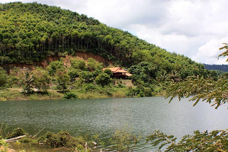 Thailand, Phattalung, Huai Nam Sai Reservoir