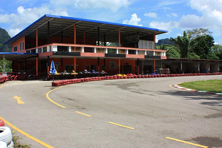 Thailand, Krabi, Sai Thai Karting