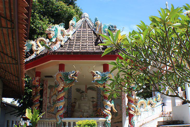 Thailand, Wat That Noi, Chandi