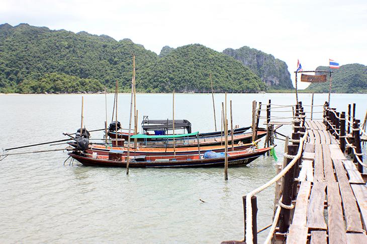 Ao Prao Jetty, Talet Bay, Khanom