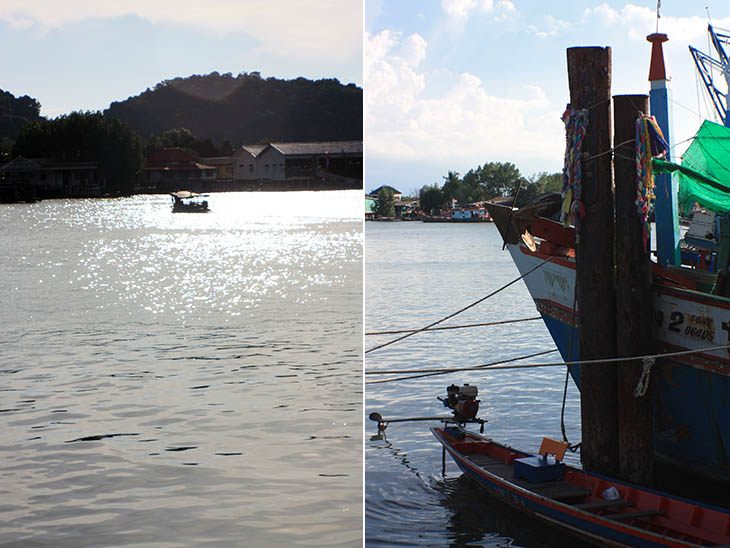 Thailand, Surat Thani, Don Sak River