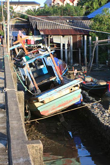 Thailand, Surat Thani, Don Sak River
