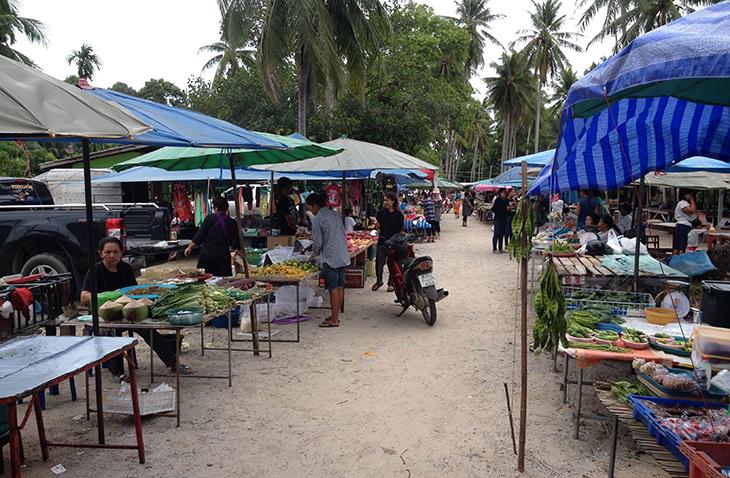 thailand, khanom, market