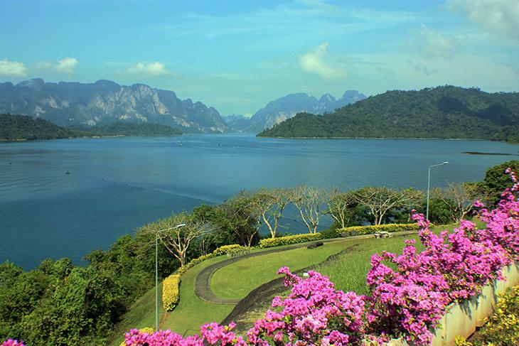 ratchaprapa dam, khao sok national park, thailand