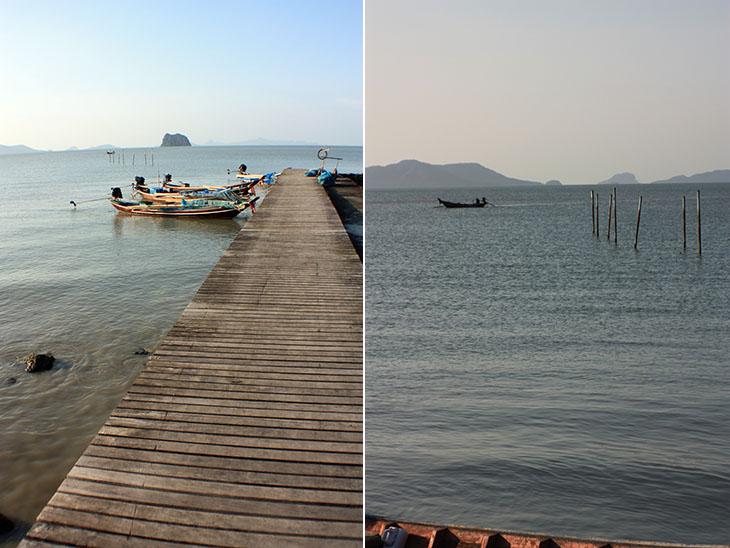 thailand, ban nam chuet, harbor