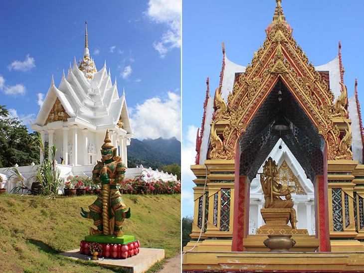 wat phu kao lak, thailand