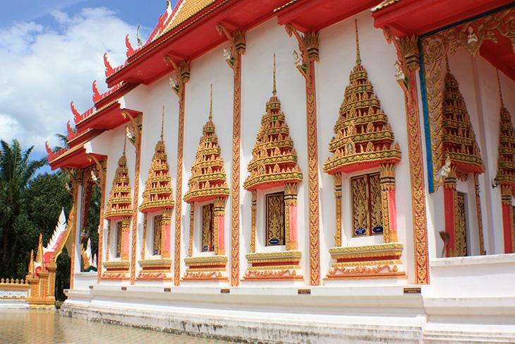 thailand, wat chaloem khet, krabi