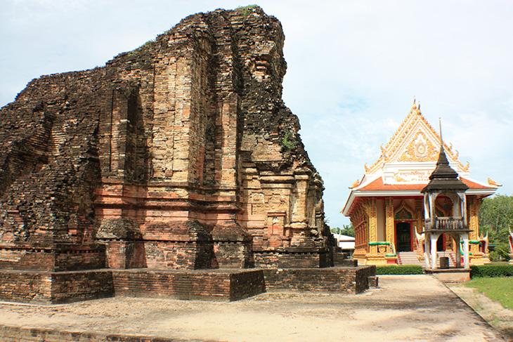 thailand, chaiya, wat kaeo