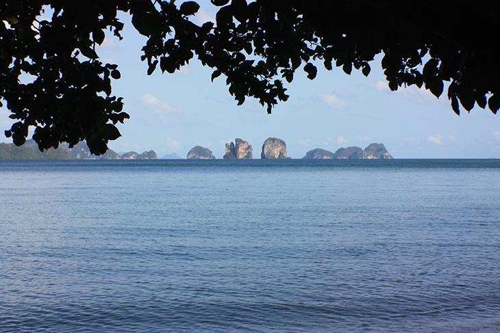 thailand, phang nga, ko yao noi, little long beach