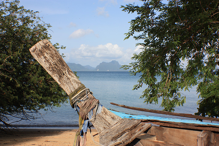 thailand, phang nga, ko yao noi, little long beach