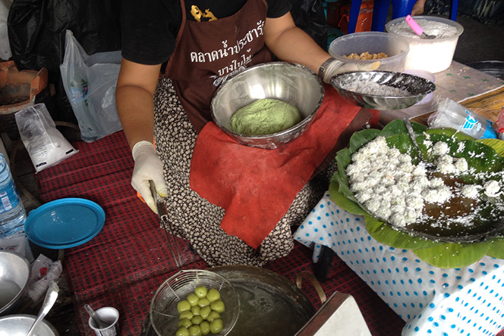 thailand, thai food, surat thani floating market