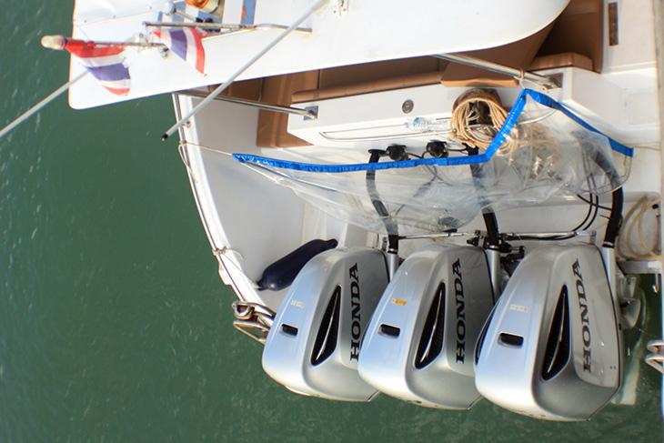 thailand, phang nga, ko yao noi, speed boat