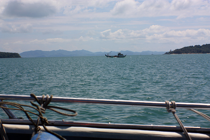 thailand, ko yao noi, phuket, speedboat