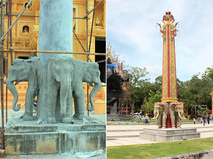 wat bang thong, krabi, thailand