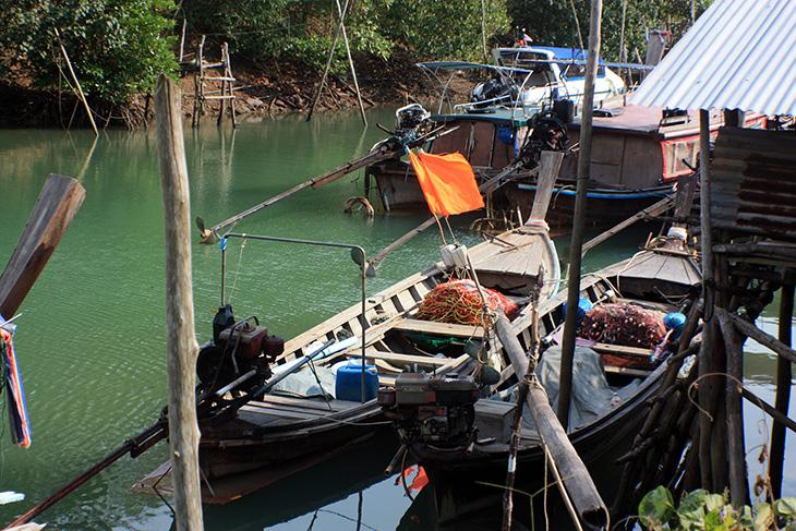 thailand, ko yao noi, ban tha khao, jetty, viewpoint, river
