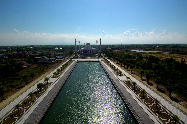 travel, thailand, songkhla, central mosque, masjid